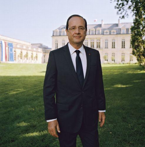 Portrait officiel François Hollande