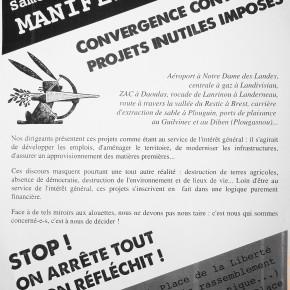 Manifestation à Brest le samedi 7 décembre 2013