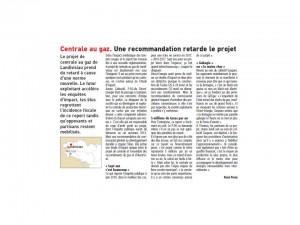 Le Télégramme 11-12-2013- Page Bretagne
