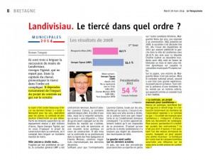 Le Télégramme 18-03-2014 (Page Bretagne)