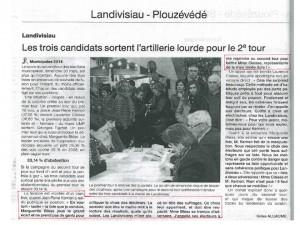 Ouest-France 27-03-2014 (Page Landivisiau)