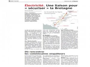Le Télégramme 10-06-2014 (Page Bretagne)