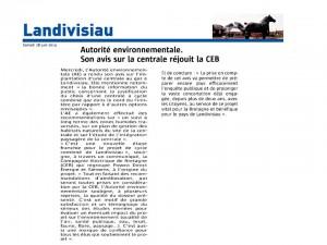 Le Télégramme 28-06-2014