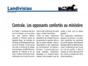 Le Télégramme 24-07-2014 (Page landivisiau)