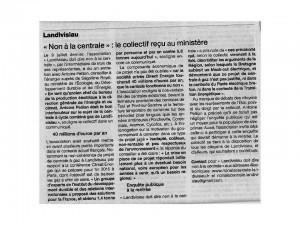 Ouest France 25-07-2014 (Page Landivisiau)