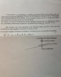 2 ème partie du courrier du Préfet de Région Bretagne