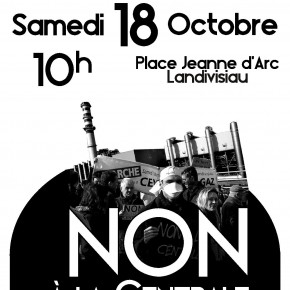 Manifestons samedi 18 octobre