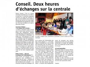 Le Télégramme 15-11-2014 (Page Landivisiau)
