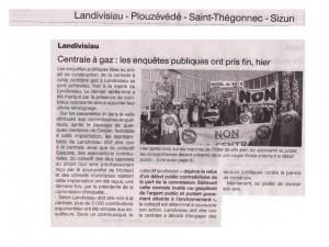Ouest France 1-11-2014 (Page Landivisiau)