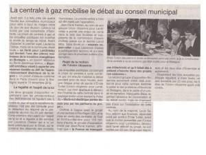 Ouest France 15-11-2014 (Page Landivisiau)
