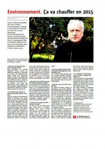Le Télégramme 3-01-2015 (Page Bretagne)