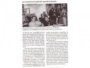 Ouest France 9-02-2015 (Page Landivisiau)