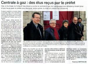 Ouest France 21-02-2015 (Page Finistère)