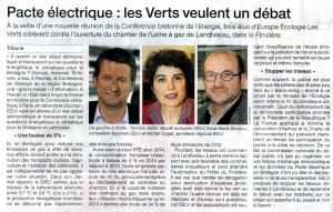 Ouest France 17-02-2015 (Page Bretagne)