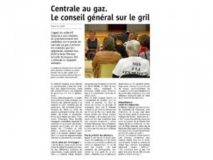 Le Télégramme 14-03-2015 (Page Landerneau)