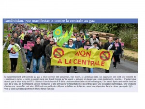 Le Télégramme 12-04-2015 (Page Bretagne)