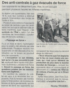 Ouest France 20-06-2015 (Page Morlaix)