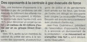 Ouest France 20-06-2015 (page Finistère)