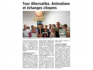 Le Télégramme 20-08-2015 (page Landivisiau 1/2)