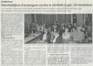 Ouest-France 20-10-2015 (Page Landivisiau)