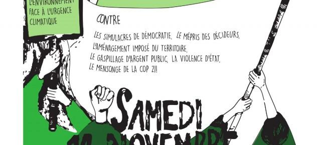 Appel à Manifestation le 14 novembre