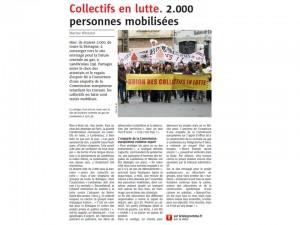 Le Télégramme 15-11-2015 (Page Bretagne)