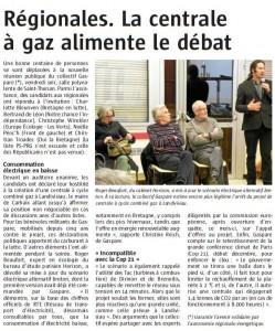 Le Télégramme 23-11-2015 (Page Landerneau)