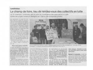 Ouest France 7-11-2015 (page Landivisiau)