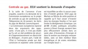 Le Télégramme 02-02-2016 (Page Morlaix)