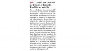 Le Télégramme 19-02-2016 (Page Bretagne)