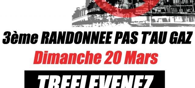 3ème randonnée Pas T'au Gaz dimanche 20 mars 2016