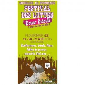 Festival des Luttes à Plougonver (22) les 19-20 et 21 août 2016