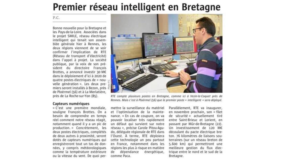 Le Télégramme 08-02-2017 (Page Economie)