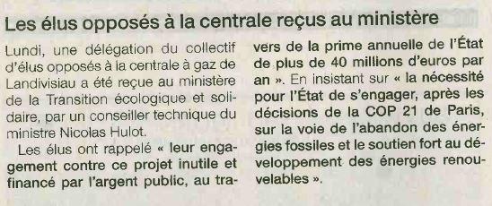 Ouest France 28-10-2017 (Page Finistère)