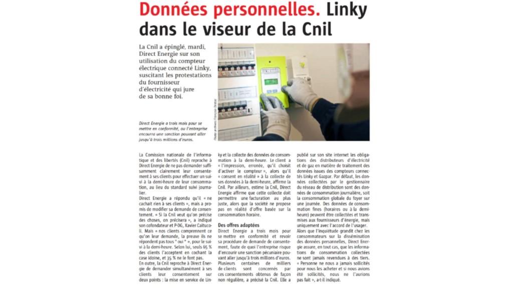Le Télégramme 28-03-2018 (Page France)