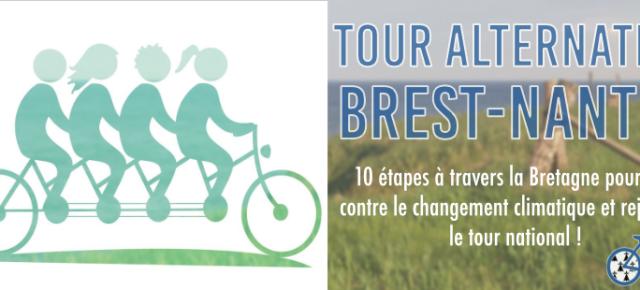 A vos vélos ! Etape BREST-NANTES du Tour étendu ALTERNATIBA - SAMEDI 23 JUIN.