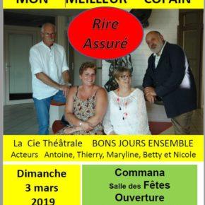 Théâtre à Commana le 3/03/19 à 15H