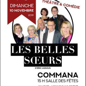Théâtre à Commana dimanche 10 novembre à 15h.