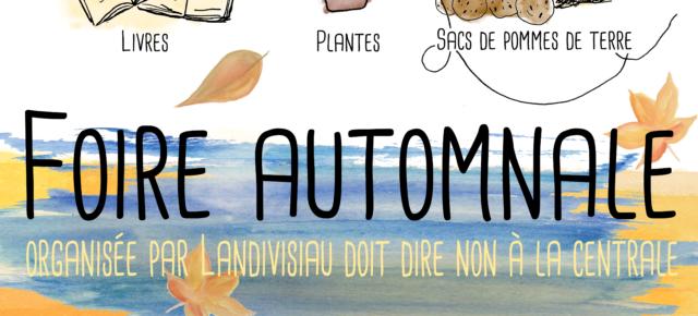 Foire d'Automne le 20 octobre 2019 à Landivisiau - Espace des Capucins à partir de 13h30.