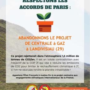 Centrale au gaz. Une pétition adressée à Macron pour l'abandon du projet